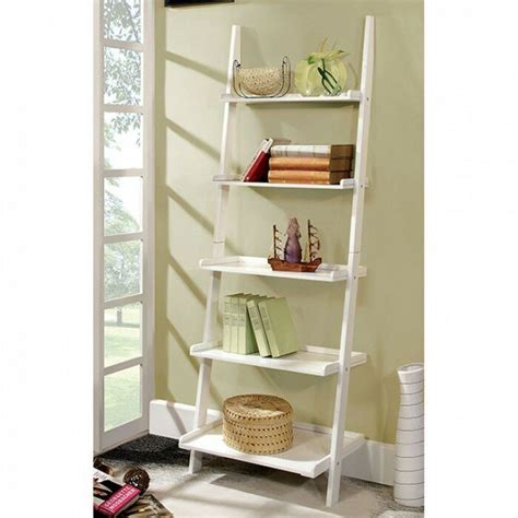 Pabst Stylized Contemporary 5-Tier Ladder Bookcase