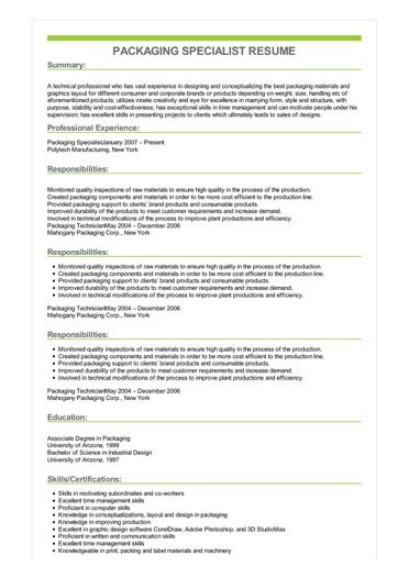 Sample Resume For Packer Job. Warehouse Worker Resume Warehouse