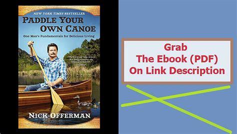 Paddle Your Own Canoe Pdf