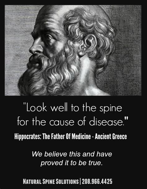 pain in bend of leg by hippocrates quotes nature