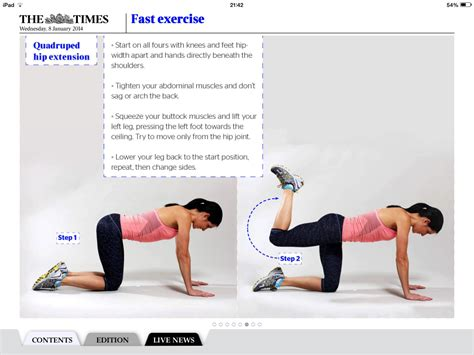 pain in hip flexor and glutes workout on the stairmaster lab