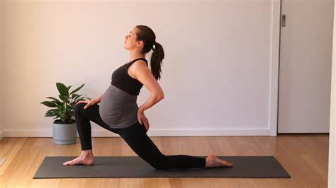 pain in hip flexor early pregnancy
