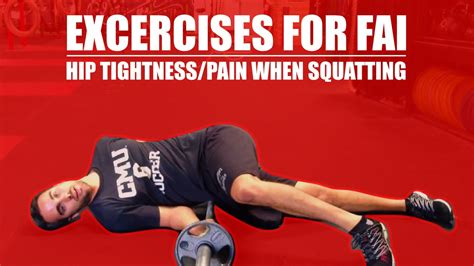 pain in hip flexors when squatting with your ball