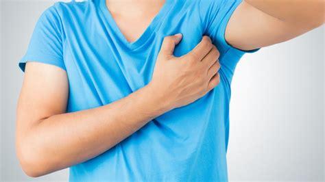 pain in left side under armpit near breast