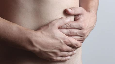 pain left side lower rib cage