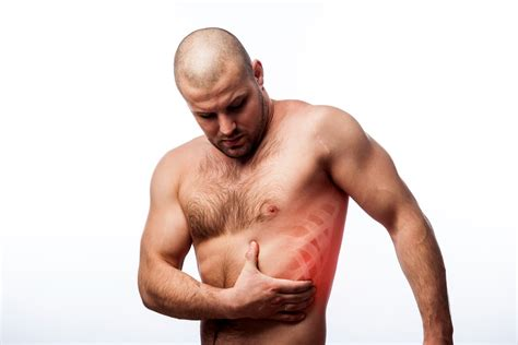 pain on left side under rib cage and shortness of breath