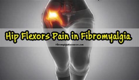 painful hip flexors fibromyalgia trigger