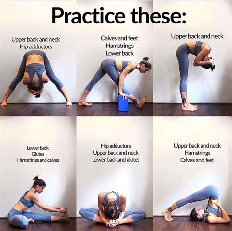 painful tight hamstrings yoga charts for beginners