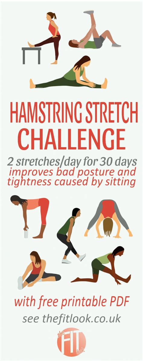 painful tight hamstrings yoga charts for kids