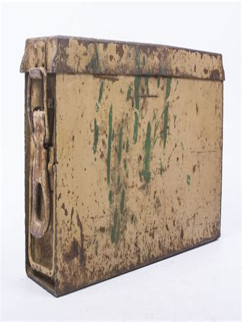 Ammunition Painted Ammunition Box.