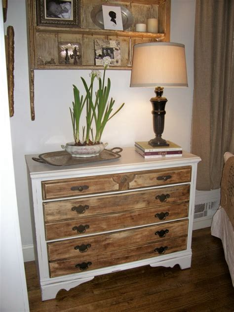 Painted Dresser Wood Top