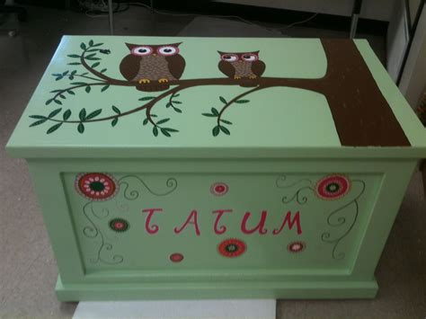 Painted Toy Box Ideas