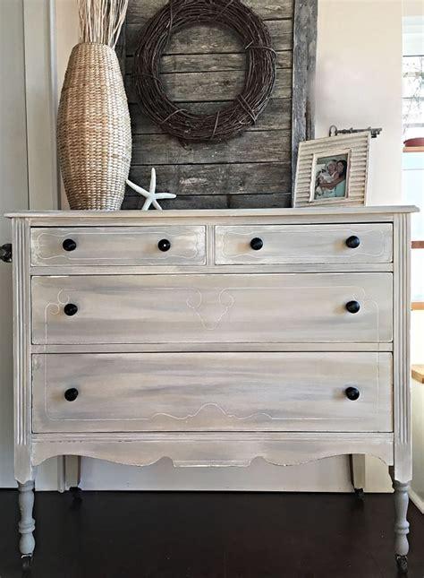 Painting A Wood Dresser Grey