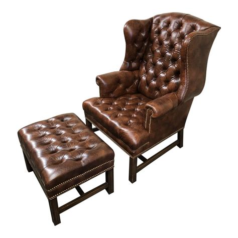Palmdale Wingback Chair and Ottoman