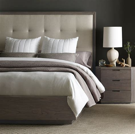 Palmer Upholstered Panel Bed by Brownstone Furniture