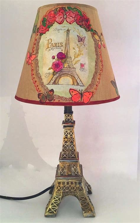 Paris Table Lamp  Ebay.