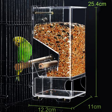 parrot cage feeders