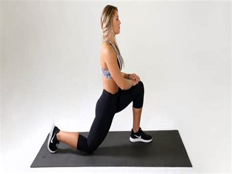 partner stretch prone hip flexor stretch without kneeling chair