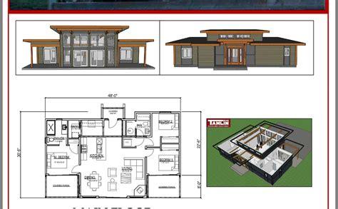 Passive Solar Cabin Plans