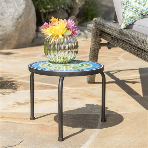 Pasternak Outdoor End Table