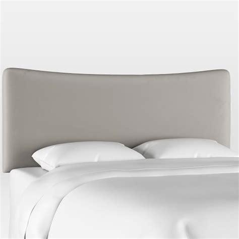 Patchett Curved Upholstered Panel Headboard