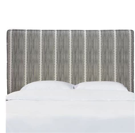 Patchway Box Seam Upholstered Panel Headboard