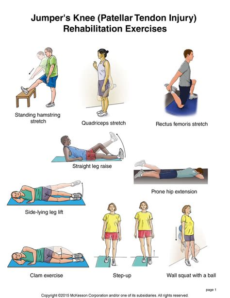 patella knee stretches exercises