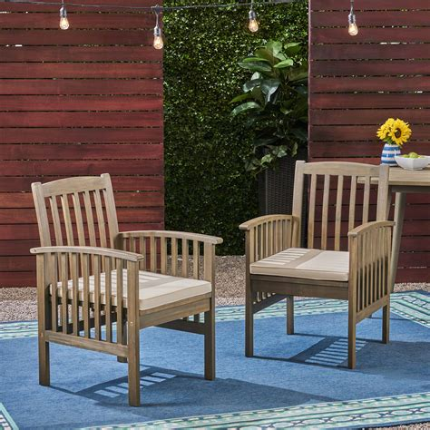 Patio Wood Chairs