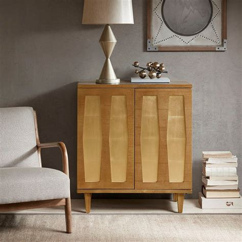 Pawnee Modern Wood 2 Door Accent Cabinet