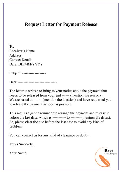 Payment Letter Request Sample Letter To Your Creditors Template