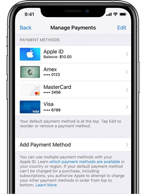 Credit Card Declined In App Store