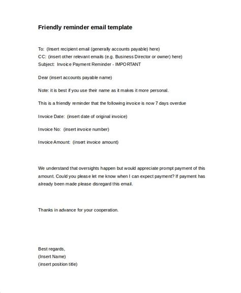 Payment Reminder Letter Example Payment Reminder Letter Template 7 Free Word Pdf