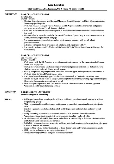 payroll administrator resume examples resume examples. Resume Example. Resume CV Cover Letter
