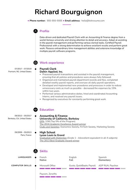 corporate. Resume Example. Resume CV Cover Letter