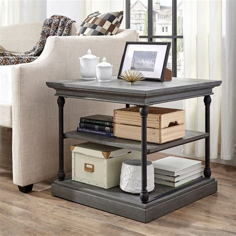 Peatman End Table with Storag by