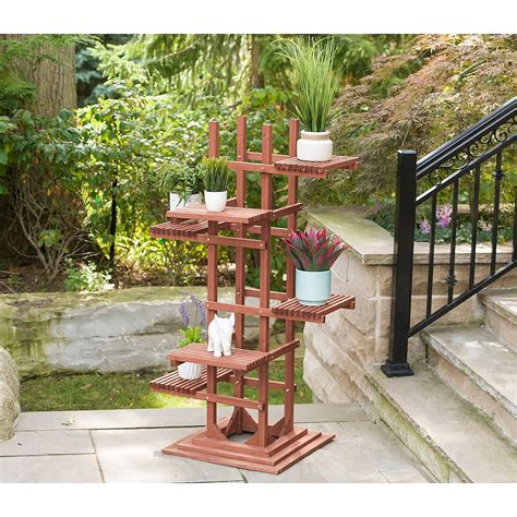 Pedestal Stand For Plants