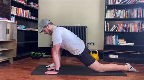 pediatric passive hip flexor stretching geriatrics