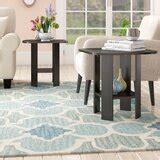 Pellegrini Simple Design End Table (Set of 2)