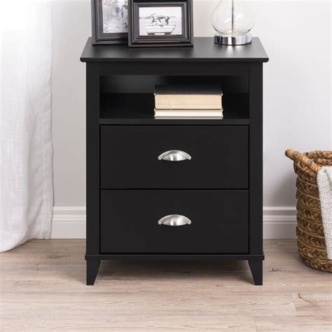 Pembrooke Traditional 2 Drawer Nightstand