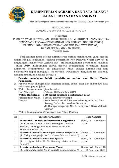 Pengumuman Hasil Cpns Badan Koordinasi Penanaman Modal Bkpm 2017  Lowongan Cpns Badan Koordinasi Penanaman Modal 2017
