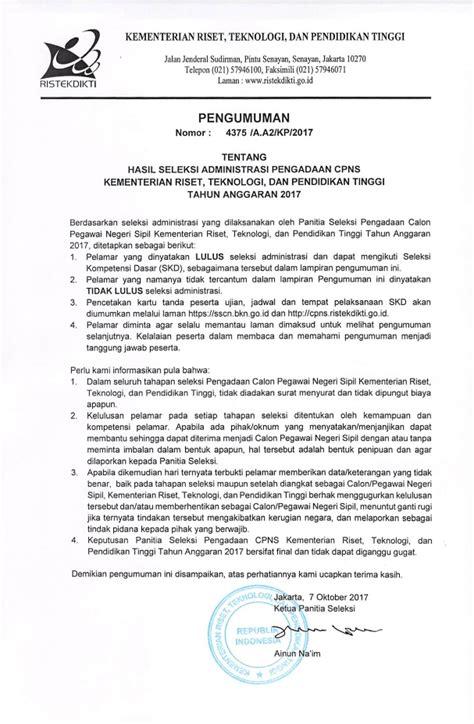 Contoh Soal Tkd Cpns Badan Narkotika Nasional Bnn 2017 Gratis  Pengumuman Hasil Seleksi Administrasi Bnn Penerimaan Cpns 2017