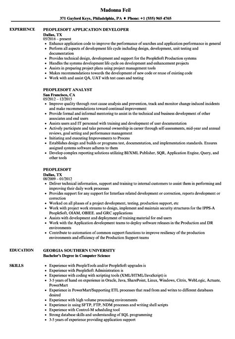 peoplesoft consultant resume sample sample resume objectives of - People Soft Consultant Resume
