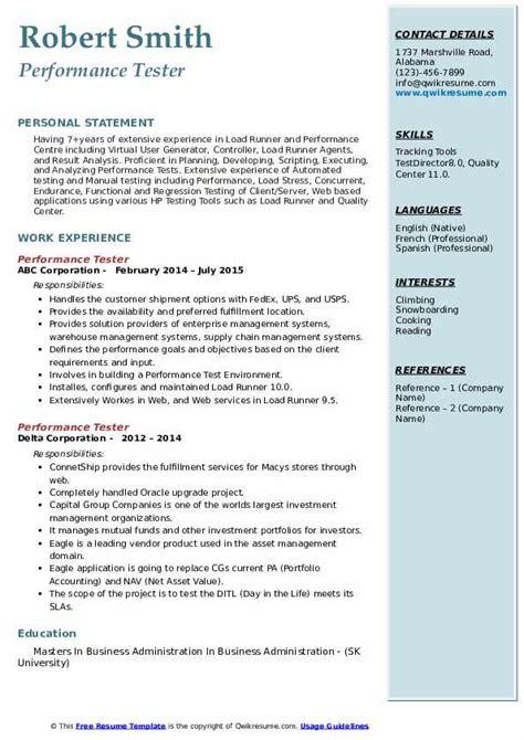 qa tester resume sample qa tester resume templatebillybullock 33