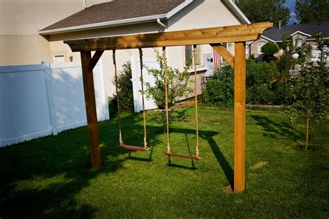 Pergola Swing Set Plans