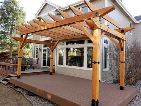 Pergola With Roof Plans