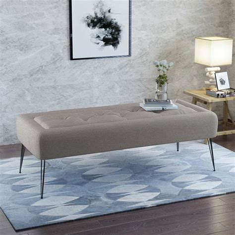 Perillo Upholstered Bench