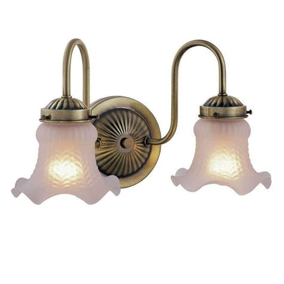 Permelia Vintage 2-Light Vanity Light