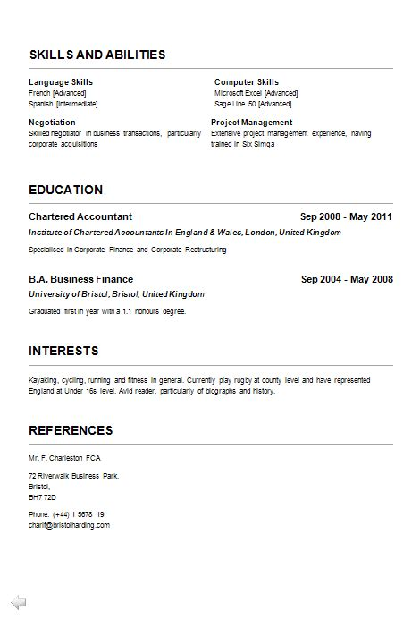 personal interests on resume examples 3 resume formats how to choose the  best one examples