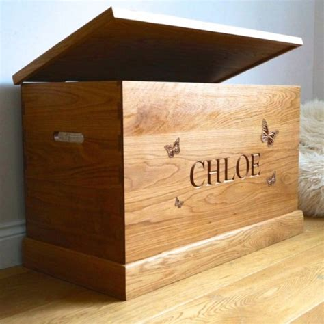 personalised toy box large