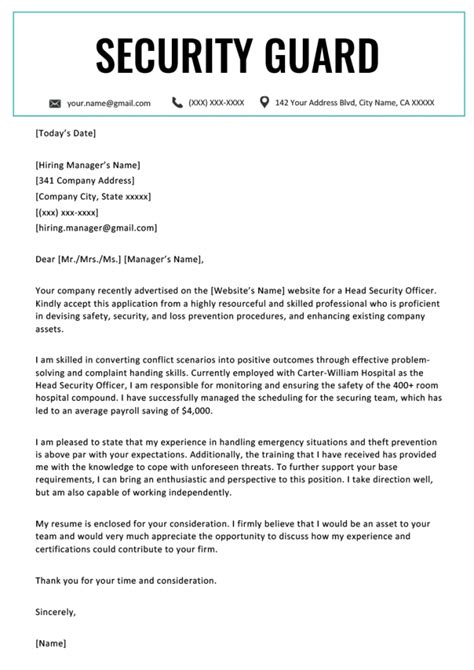 Personnel Security Specialist Resume Cover Letter Sample Cover - Cover letter for security